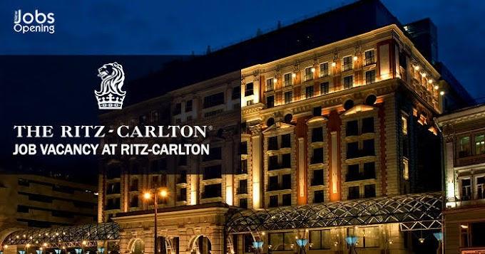 Ritz Carlton Hotel Jobs in Qatar | Recruitment 970+ Staff This Month - Apply  Click Here