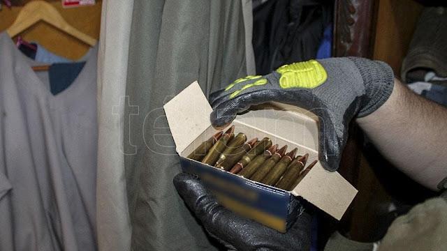 Secuestran armas de fuego y municiones tras allanamientos en Formosa y Resistencia