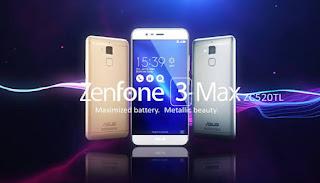 Asus Zenfone 3 Max ZC520TL: produk ASUS kedua terlaris dipasaran