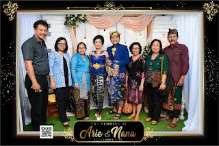 THE WEDDING OF ARIE & NANA