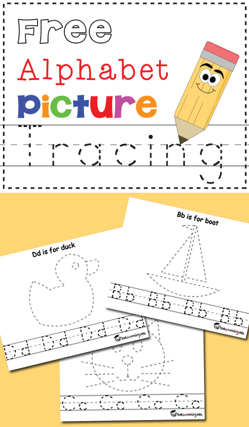 Easter Picture & Word Tracing Printables (Love to Learn ...