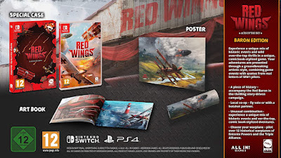 Red Wings Aces of The Sky Edition Baron Nintendo Switch