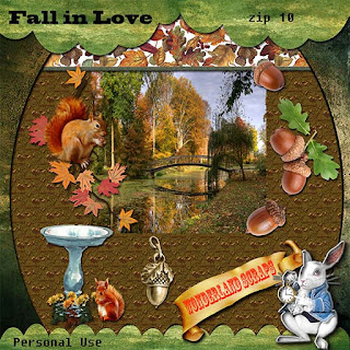 Monday - about acorns - Fall In Love freebie