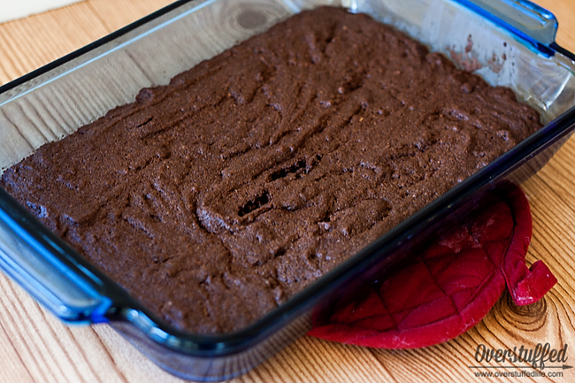 Gluten-free fudgy brownies. Easy to make, and very delicious!
