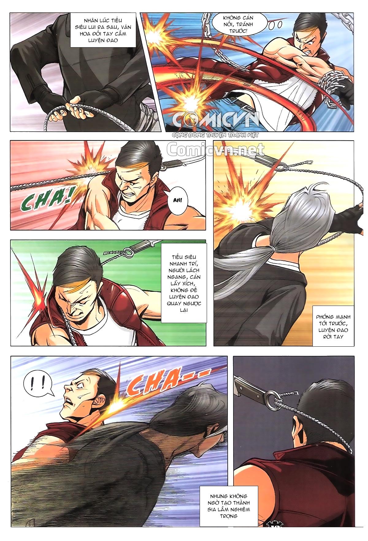 Người Trong Giang Hồ chapter 1787: hỏa thiêu trần hạo nam trang 14
