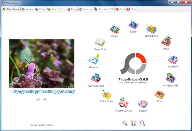 Photoscape - Photo Editing Tool