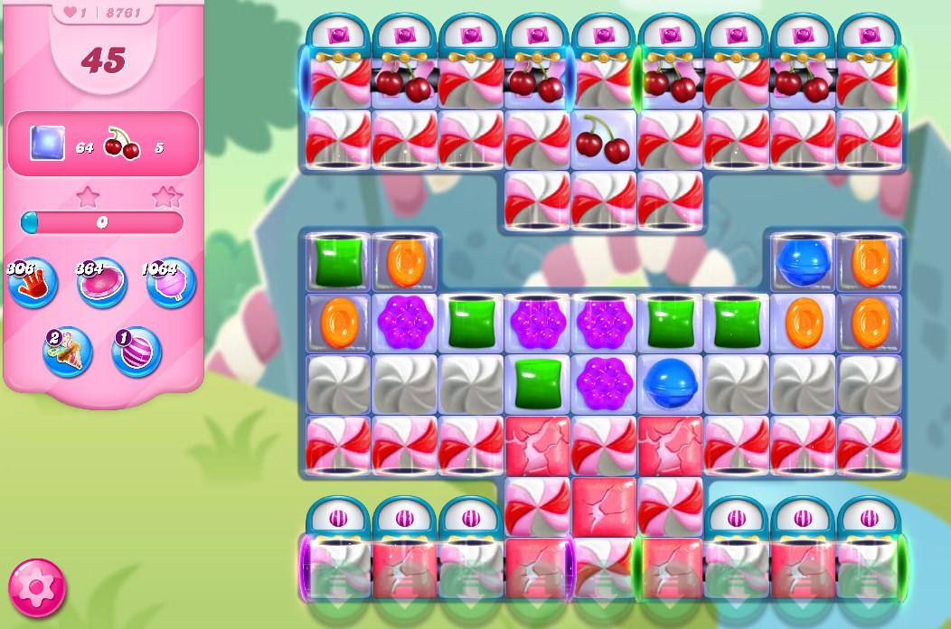 Candy Crush Saga level 8761