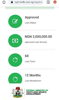 Nigeria Youth Investment Fund Loan Approval
