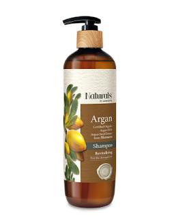 watsons naturals argan organic shampoo 490ml