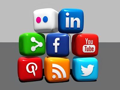 social media icons, social media