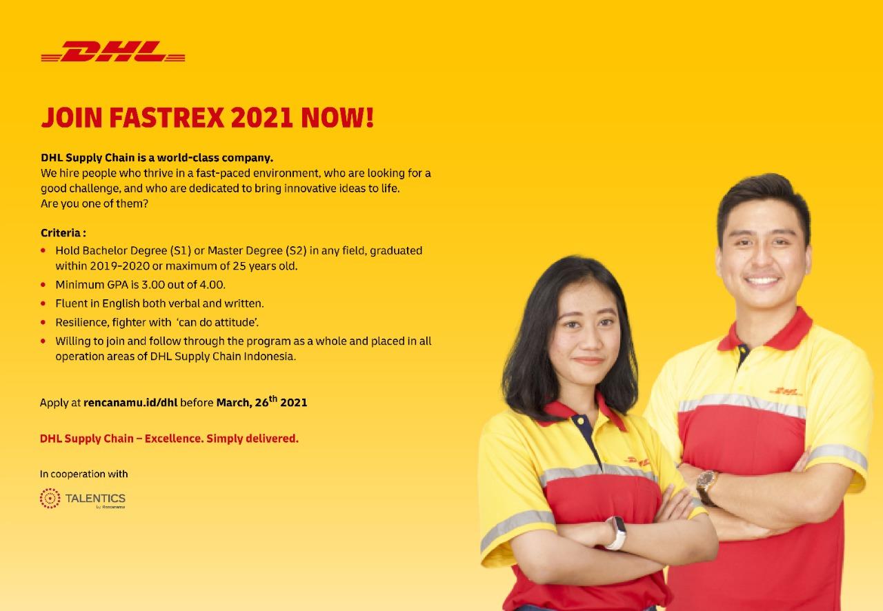 Lowongan Kerja DHL Supply Chain Indonesia
