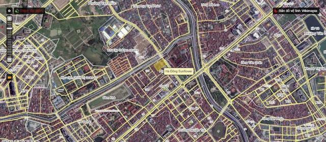 Vị trí tọa lạc tại trung tâm quận Hà Đông