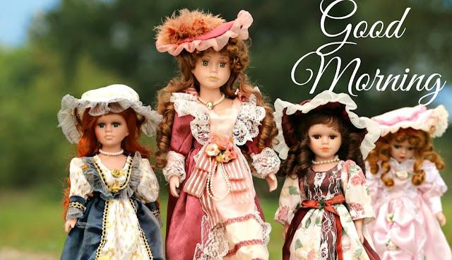beautiful good morning barbie doll image