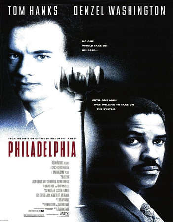 Poster Of Philadelphia 1993 Dual Audio 720p BRRip [Hindi - English] ESubs Free Download Watch Online Worldfree4u