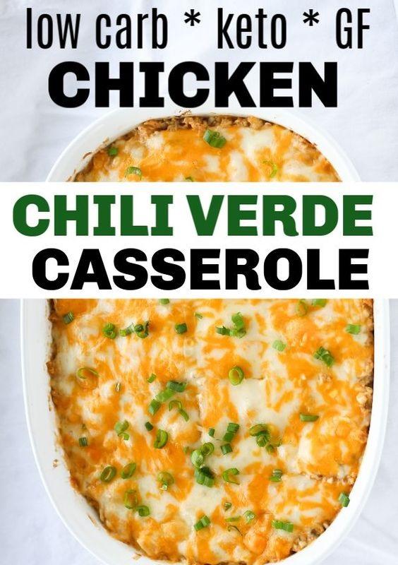 Easy Chicken Green Chili Casserole Recipe