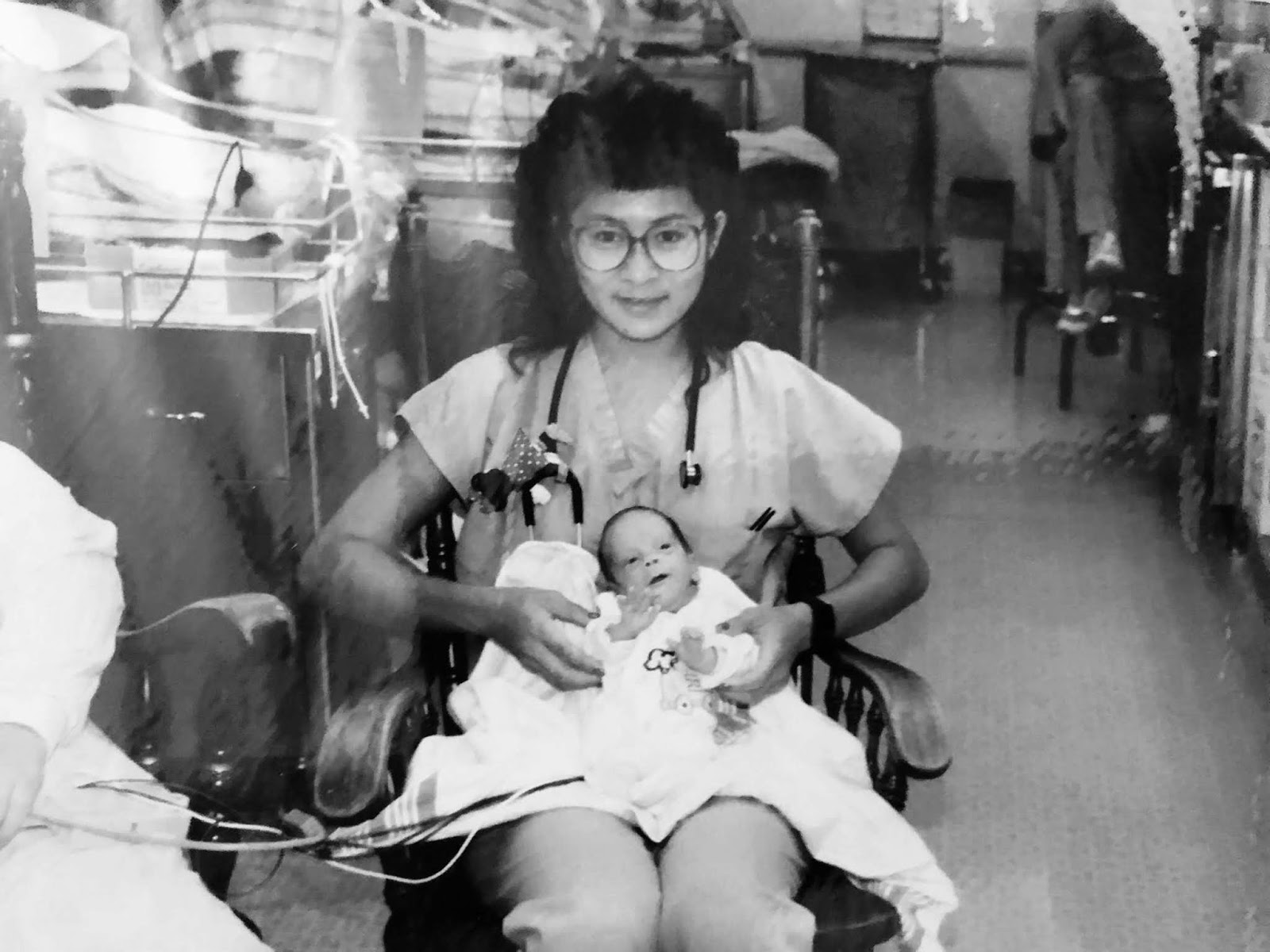 Vilma Wong, 54, is an NICU nurse at Lucile Packard Children's Hospital in Palo Alto, California, where she has worked for 32 years.