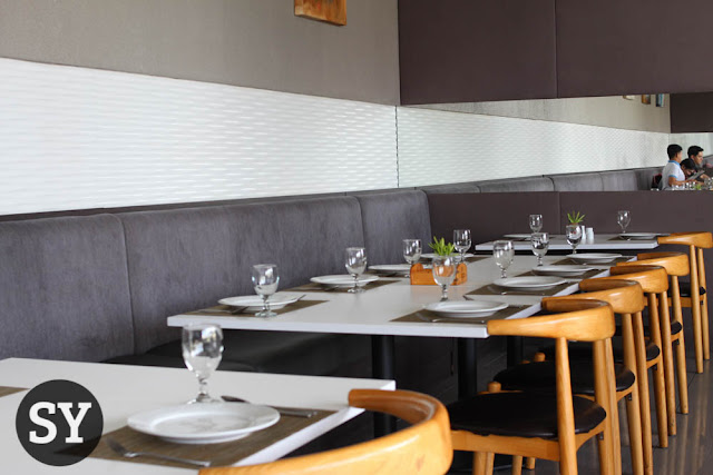 Interior of Meridian Restaurant