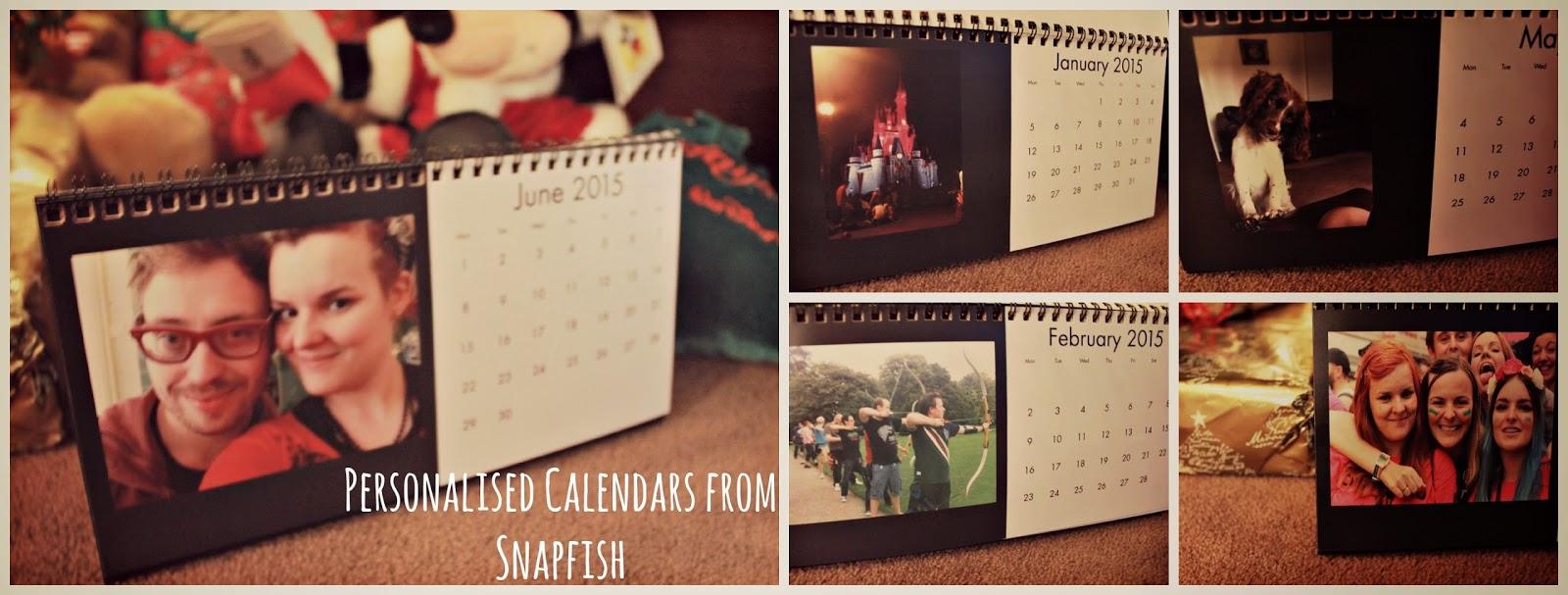 Personalised Calendars from Snapfish
