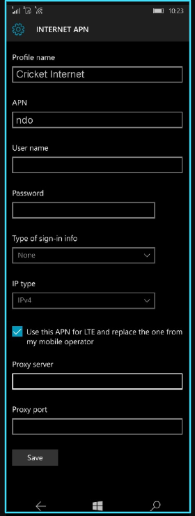 Cricket apn settings for windows phone updated