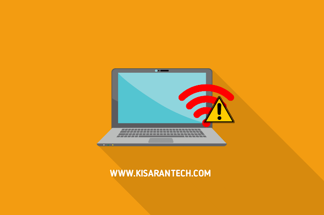 Cara Mengatasi Tanda Seru Pada WiFi Laptop
