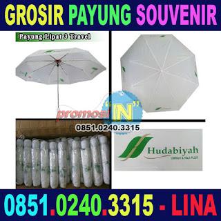 Grosir Payung Souvenir Advertisement Murah Travel Haji dan Umroh Hudabiyah