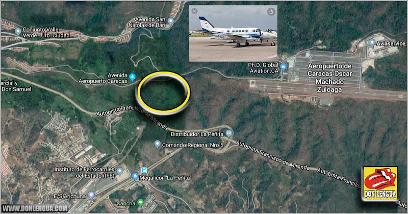 Fueron recuperados 2 kilos de oro de los que venían en el avión accidentado en Charallave