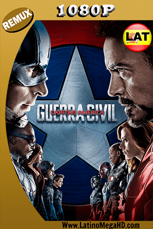 Capitán América: Civil War (2016) IMAX EDITION Latino HD BDRemux 1080P ()