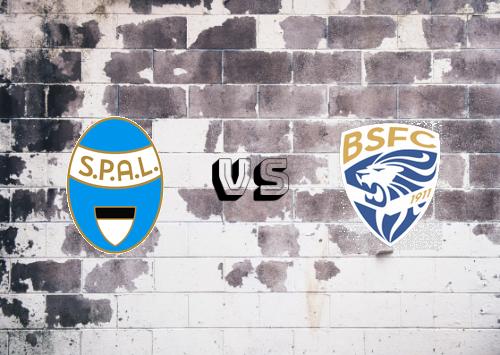SPAL vs Brescia   Resumen