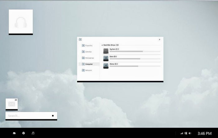 How to Install Custom Third Party Themes on Windows 8