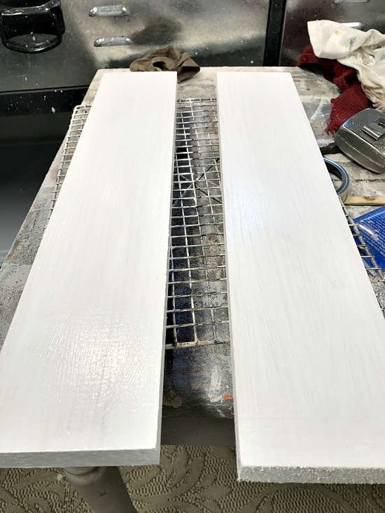 painting boards white