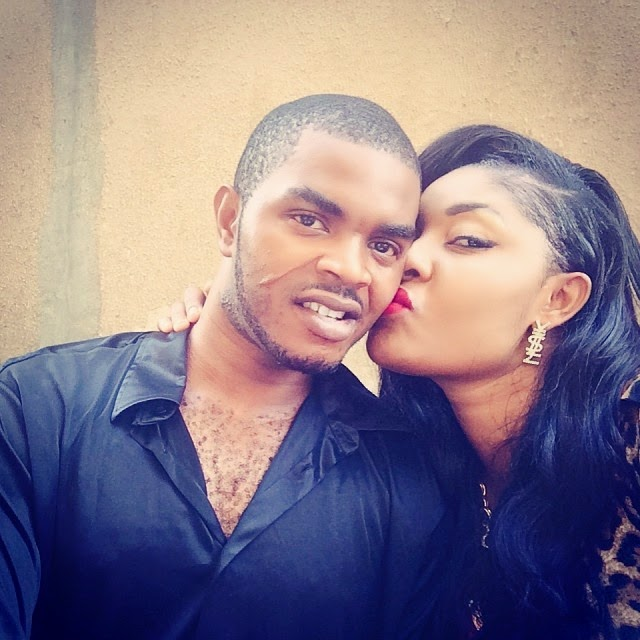 angela okorie husband picture