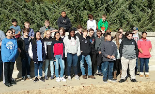 Montgomery Catholic Middle School Students Participate In Wreaths Across America 1