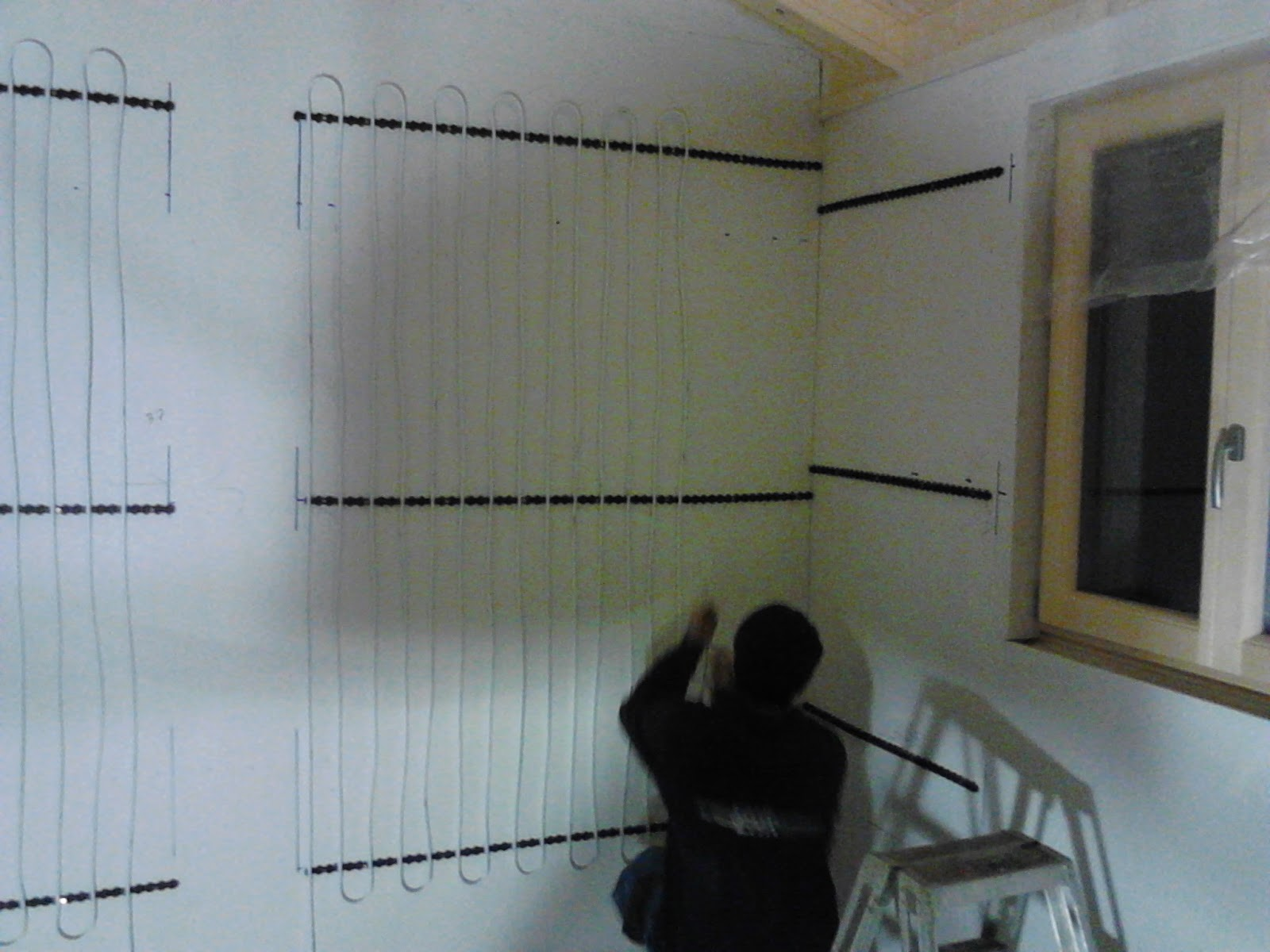 Bautagebuch: Heizung - Elektro - Innenputz Keller
