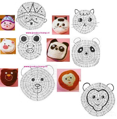 Caritas Patrones de Crochet Infantiles
