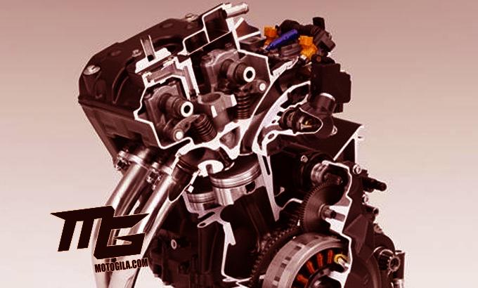 gambar mesin Honda CBR250RR