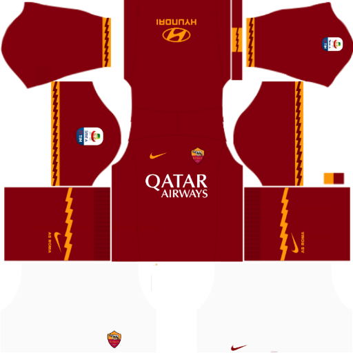 Kits DLS/FTS AS Roma 2019/2020