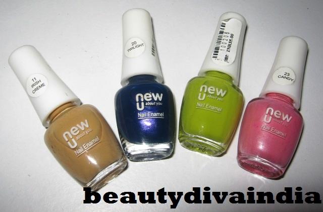 New U Nail Polish Haul Flormar Colorama Amp New U Beautydiva India