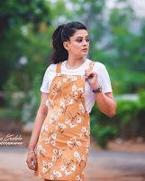 Priyamani Hot Pic in Brown Color Dress