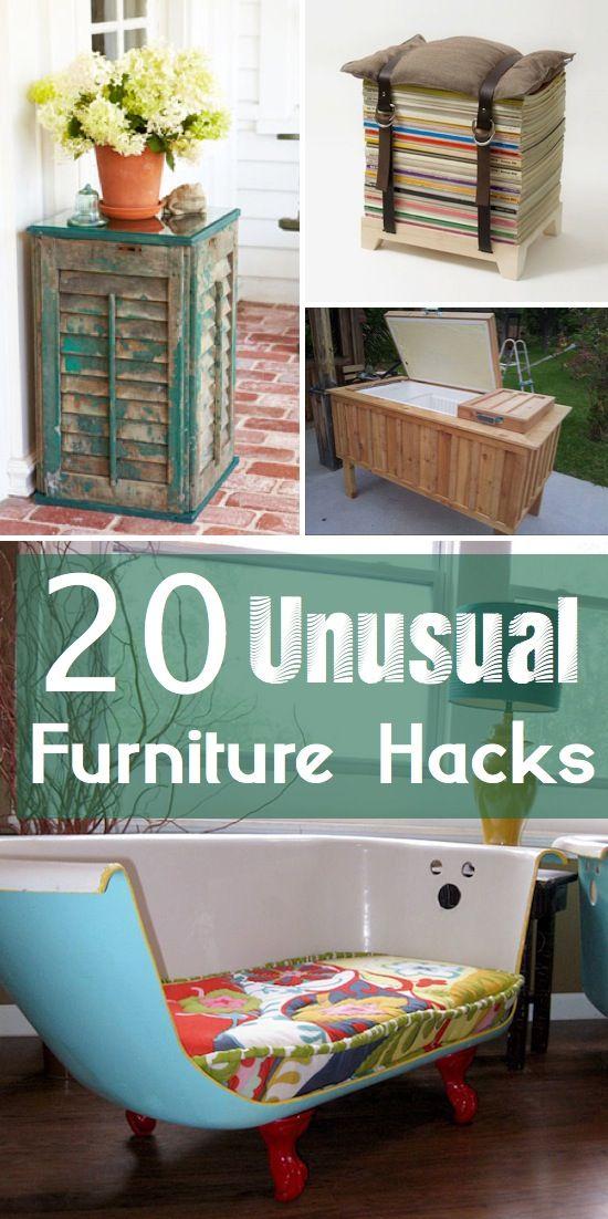 20 Unique Diy Wind Chimes: Craft Project Ideas: 20 Creative DIY Furniture Hacks