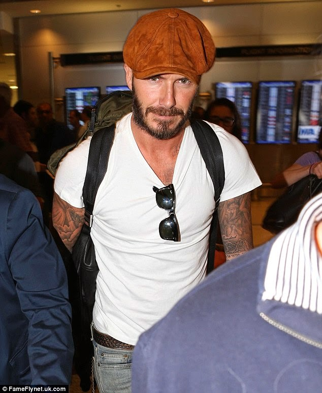 91b75962083 Wear It Like Beckham  David Beckham in Lock   Co. Hatters