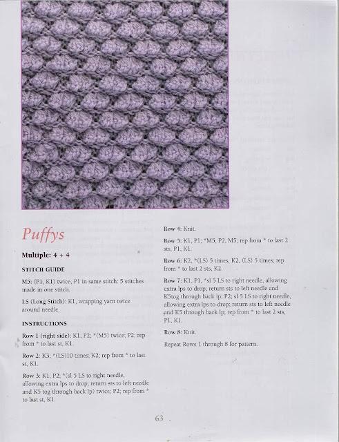 Ponto de Tricô 50 - 50 Fabulous Knit Stitches