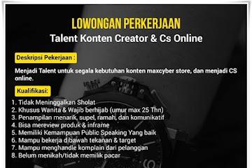 Lowongan Kerja Konten Kreator & CS Online