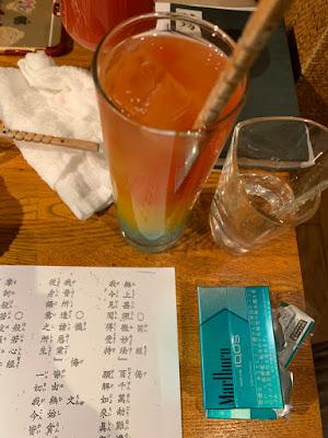 坊主バーオリジナルカクテルの極楽浄土 Gokuraku-Jodo