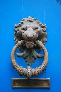 Le Chameau Bleu - Heurtoir de Bayonne
