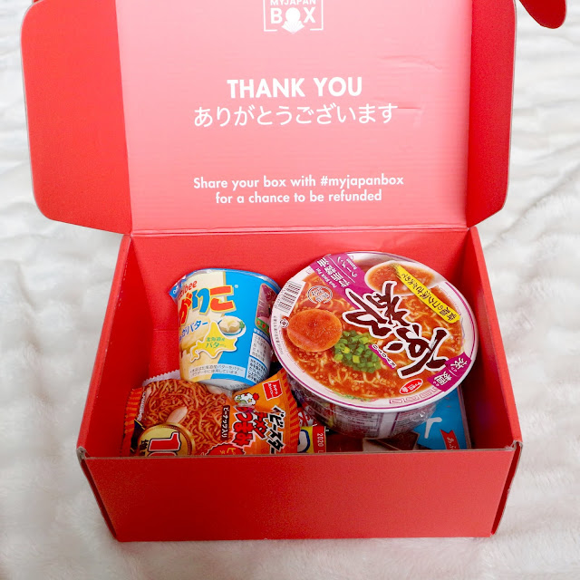 Contenu my japan box