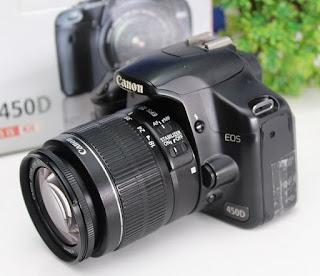 Jual Canon EOS 450D Bekas