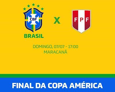 مباراة  نهائي كوبا امريكا بين البرازيل والبيرو اليوم في تمام الساعة السابعة مساء بتوقيت غرينتش