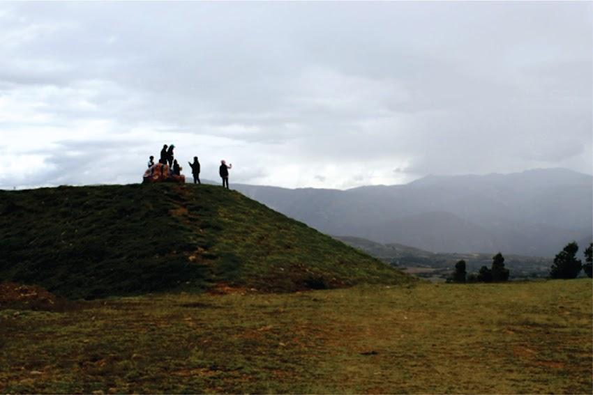 Mirador fin de la Pampa Grande - Cajabamba