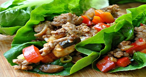 Sweet And Spicy Lettuce Wraps  Recipe