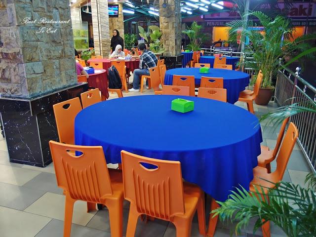 Ibrahims Fatty Crab Restoran Ampang Jaya Dining Area
